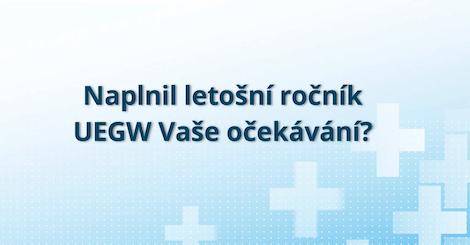 Ohlédnutí za UEGW 2020