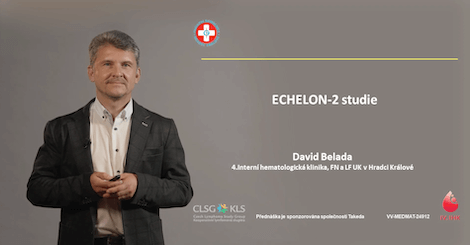 MUDr. David Belada, Ph.D.: ECHELON-2 studie
