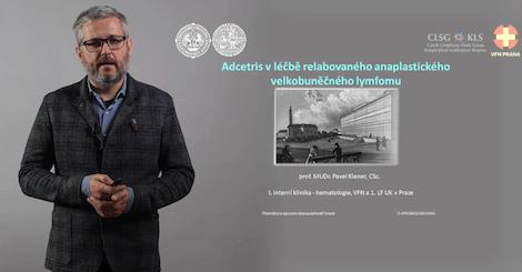 Prof. MUDr. Pavel Klener, CSc. - Adcetris v léčbě relabovaného sALCL
